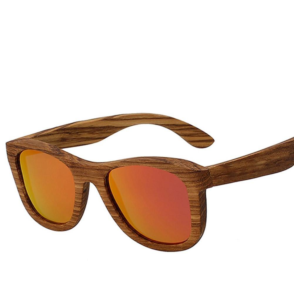 XIAOLI& Holz Sonnenbrille Männer und frauen mode retro polarisierte ...