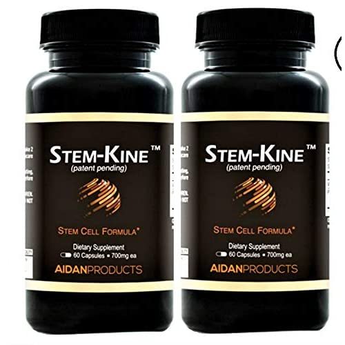 Image of Aidan Products - Stem Kine, 60 Capsules (2-Pack) Health and Household
