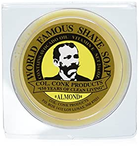 Colonel Ichabod Conk Almond Shave Soap 2.25 Oz