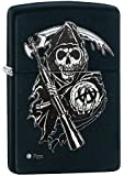 Zippo Sons of Anarchy(TM) Grim Reaper Pocket Lighter, Black Matte