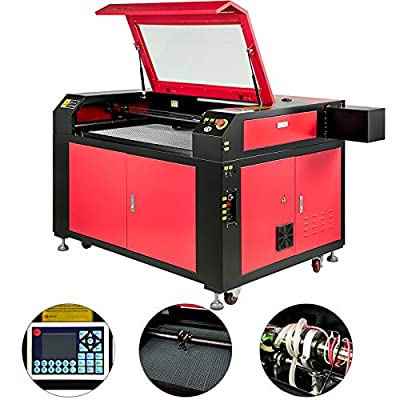 VEVOR Laser Engraver 100W Laser Engraving Cutting Machine 36X24 inch CO2 Laser Engraving Cutting Machine with Red Dot Pointer and USB Interface (Engraving Area:36x24 Inches)