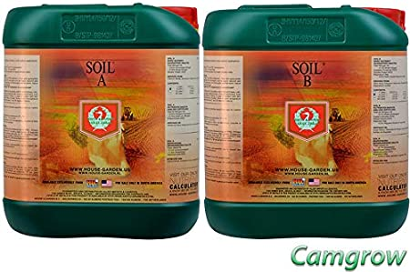 Amazon Com House Garden Soil A B Base Nutrient 5l Set Garden Outdoor