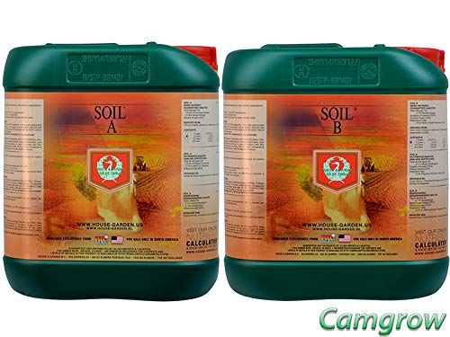 5l Garden - House & Garden - Soil A&B Base Nutrient 5L Set