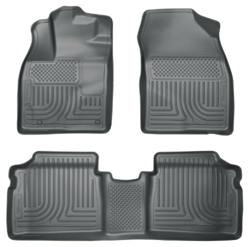 Husky Liners 98932 WeatherBeater Grey Front and 2nd Seat Floor Liner by Husky Liners
