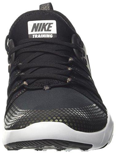 MTLC Black Noir NIKE Free Femme Platinum Pure de Gymnastique Chaussures 7 TR Black TtTxWgz18
