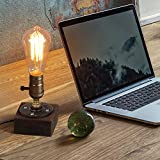 HAITRAL Vintage Steampunk Lamp - Antique E26 Edison Bulb Industrial Desk Lamp, Minimalist Loft Style Accent Lamp for Living Room, Office, Café, Pub