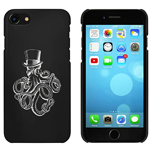 Noir 'Elegante Poulpe' étui / housse pour iPhone 7 (MC00083718)