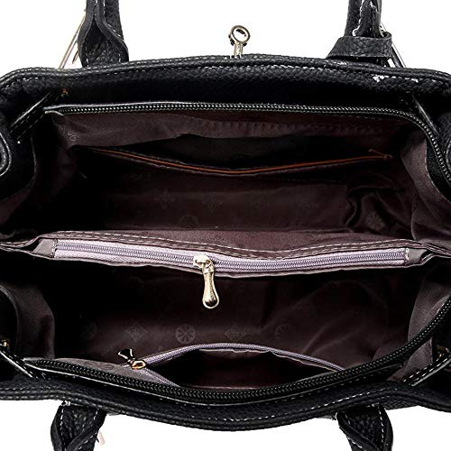 mujer hombro para talla Bolso marrón Negro única MANYYSI al IH1wqPxn