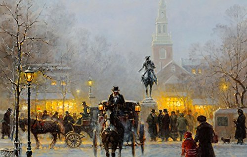 Da Bang Harvey G Winter Evening 24Inx36In for sale  Delivered anywhere in USA