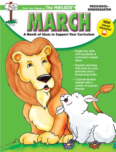 March Monthly Idea Book - March: A Month of Ideas At Your Fingertips!: Preschool-kindergarten (Mailbox monthly series, TEC247)