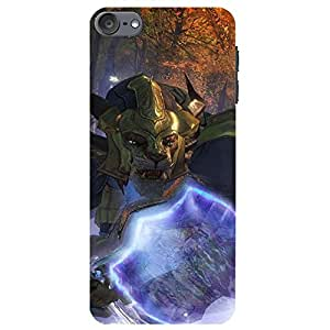 Ipod Touch 6th Generation Cover,Guild Wars Phone Case Unique Custom Guild Wars Game Protective Case Cover Network Design