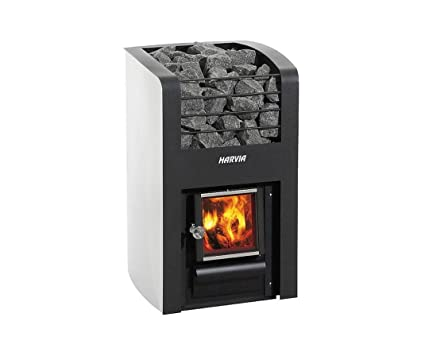 Harvia estufa para sauna Classic 220 de madera calentado piedras para sauna de Madera estufa para