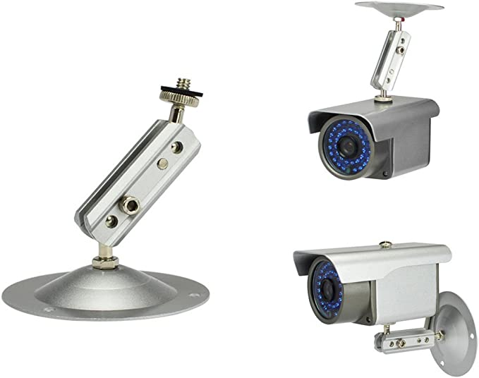 Aluminum Wall Mount Brackets Stand For CCTV Security Bullet Camera