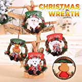 Christmas Wreath Door Wall Ornament, Handmade