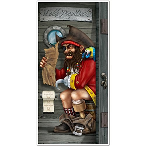 Pirate Booty Costume Party City (Pirate Bathroom Door Cover)