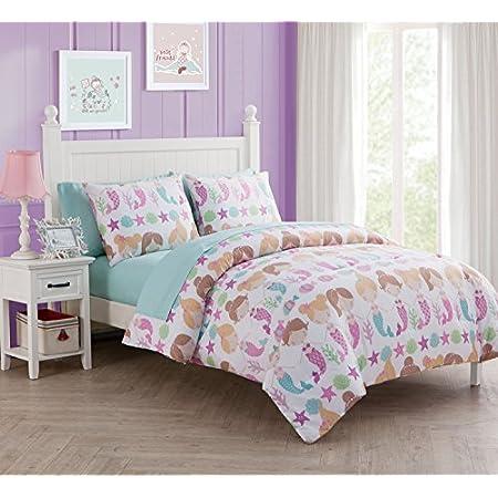 5112CJ3jiUL._SS450_ Mermaid Bedding Sets and Mermaid Comforter Sets