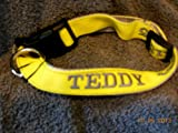 Pampered Pooches Embroidered Id Collars, My Pet Supplies