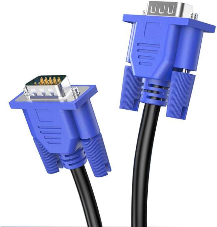GWWDNB-XXB Cable de Monitor VGA de 15M - VGA 15 Pin, Cable de Monitor VGA Macho a Macho, for PC Video Computadora Proyector de TV Cable Full HD 1080p 3D (Talla :
