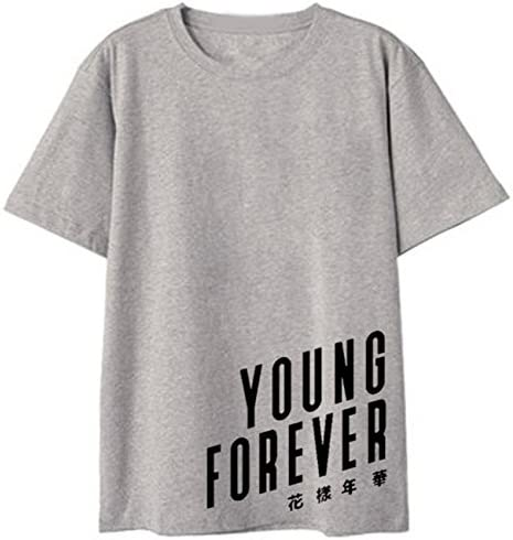 Seraphy Unisex T-shirt na lato Top KPOP Mode Tshirt Young Forever dla Army Suga Jimin Jin Jung Jook J-Hope Rap-Monster V: Odzież