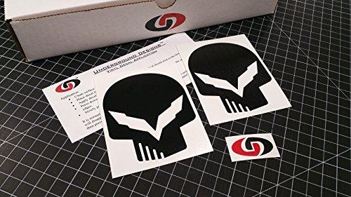 C7 Skull Decal Corvette Jake Skull Stick - Corvette Z06 Wheels Shopping Results