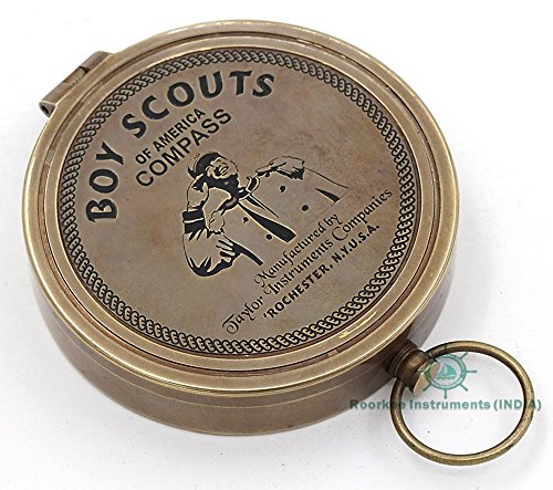 Boy Scout Compass / American Boy Scout Directional Magnetic Compass for Navigation/Pocket Compass for Camping, Hiking, Touring