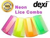 Lice Comb Fine Tooth Plastic Nit Comb