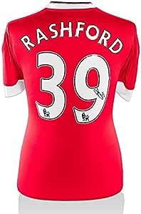 Marcus Rashford Signed Manchester United Shirt - Number 39 ...