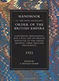 Handbook to the Most Excellent Obe 1921, A. Winton Thorpe, 1843424584