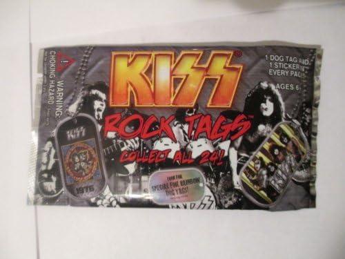 1 Dog Tag//1 Sticker KISS Rock Tags