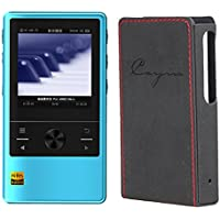 Cayin N3 DAP, Master Quality Digital Audio Player (Cyan) with Leather Case