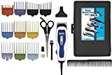 Wahl Men's Clippers Complete 17-Piece Barbers Kit, with Color Coded Attachment Combs and Self Sharpening Blades, Scissors, Comb and Hard Case Included