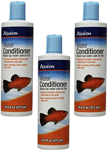 Aqueon Tap Water Conditioner 16oz Bottles (Pack of 3) Conditioner 16 Ounce Bottle