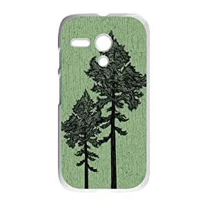 Forest Trees Motorola G Cell Phone Case White Protect your phone BVS_774400
