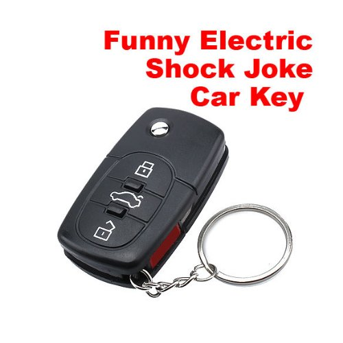 ACE Electric Shock Gag Joke Prank Car Key Remote Fun C