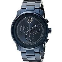 Movado Men's 3600279 Blue Stainless Steel Watch