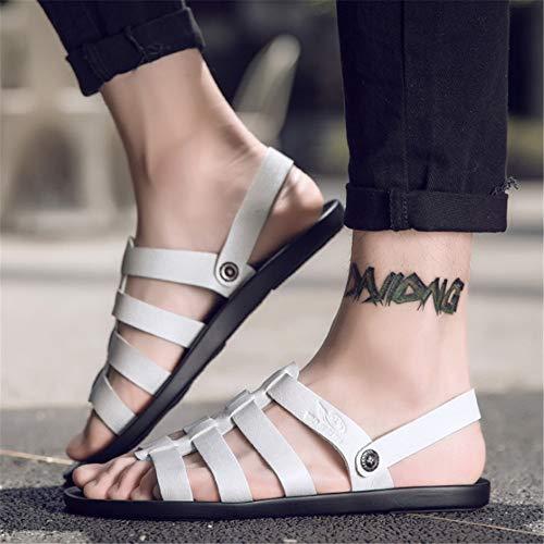 da Wagsiyi E 1 Traspiranti 39 Scarpe Outdoor Colore Estivi Bianca pantofole spiaggia Antiscivolo Giallo Leggere Leggere Scarpe Da 3 Uomo Dimensione EU Sandali Sandali Cw6qpC