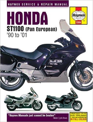 Honda ST1100 (Pan European) 1990 TO 2001 (Haynes Manuals): Haynes:  0038345033841: Amazon.com: BooksAmazon.com