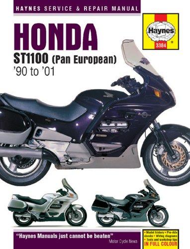 ropean) 1990 TO 2001 (Haynes Manuals) (Honda St1100 Pan)