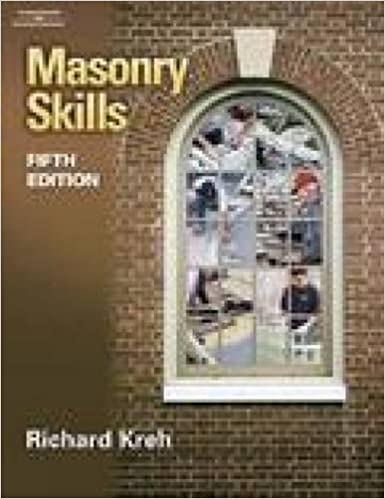 Masonry skills 5e richard t kreh 9780766859364 amazon books masonry skills 5e 5th edition fandeluxe Choice Image
