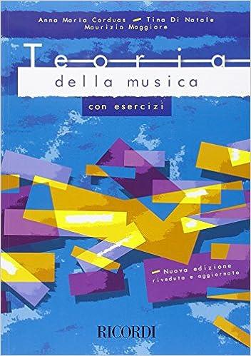 Teoria Della Musica Con Esercizi Livre Sur La Musique