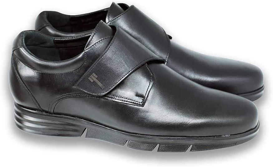 Modello Modena C. Fabbricate in Pelle Scarpe con Rialzo da Uomo Che Aumentano l/'Altezza Fino a 7 cm
