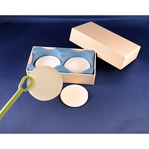 4.7 cm Binderless Glass Microfiber Filter Media pack//100 Grade F