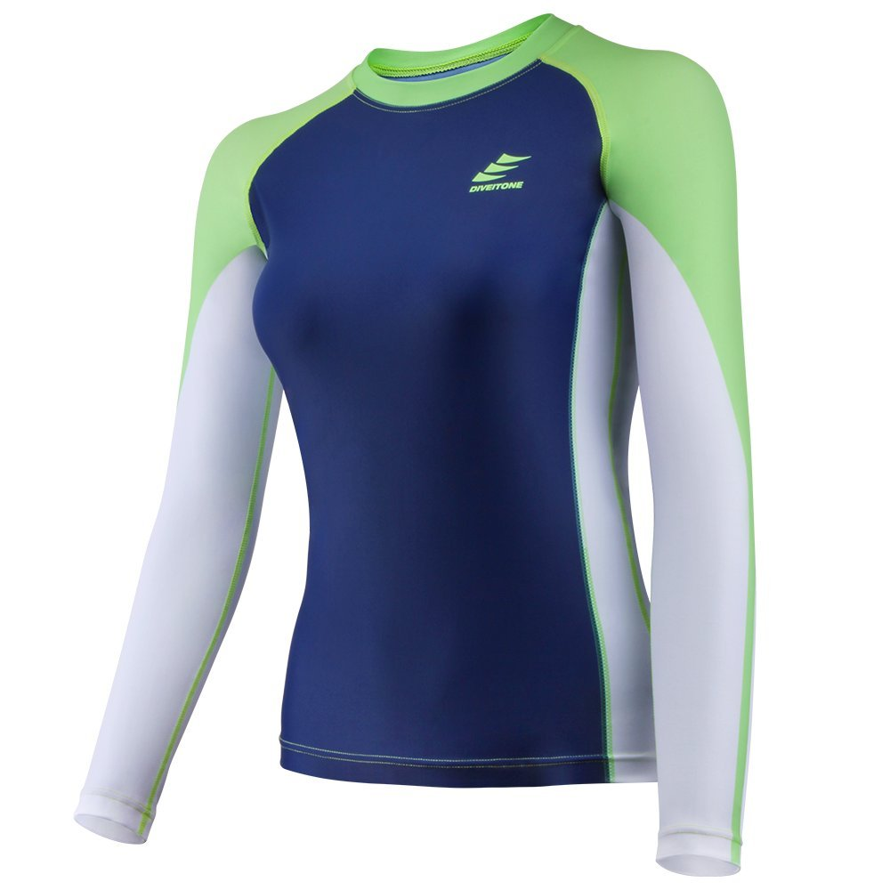 CAPAS Rash Guard, UPF50+ Rashguard for Women Youth Outdoor Sports Surfing Snorkeling Diving Other Water Sports