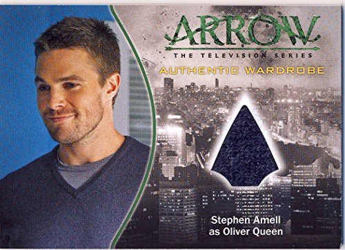 2015 Arrow The Television Show Trading Card Wardrobe M01 Stephen Amell as Oliver Queen (Tv Trading Card Show)