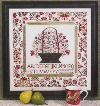 Cornwall Cottage Sampler Cross Stitch Chart and Free Embellishment
