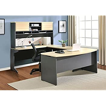 Amazon Com 4pc L Shape Modern Contemporary Executive