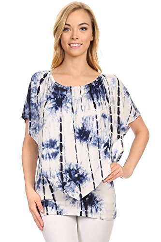 Womens Top Shoulder Blouse Tunics product image