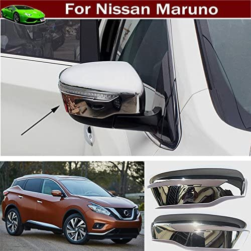 ABS Rearview Side Mirror Stripe Cover Trim 2pcs for Nissan Rogue Sport 2017-2018