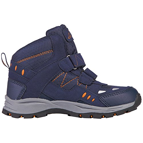 Enfant 6744 Teens Tex II Mid Orange Bliss Rangers Bleu Navy Bottes Kappa Mixte Fq7Iw8Wx