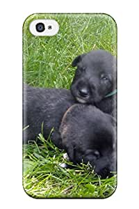 Evelyn C. Wingfield's Shop Top Quality Protection Irish Wolfhound Puppies Case Cover For Iphone 4/4s